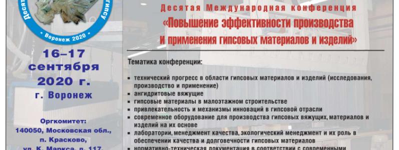 X Международная конференция (Воронеж)